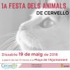 Cartell 1a Festa dels Animals