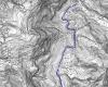 Planimetria del Camí de Can Sala de Baix a Torrelles de Llobregat