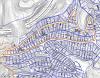 Planimetria Jaciment Paleontològic de l'Urbanització Can Castany