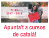 Apunta't a cursos de català!
