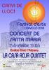 Cartell concert Santa Maria amb canvi de lloc
