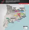 Mapa etapes 99a Volta Ciclista a Catalunya