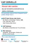 Horais CAP Pasqua 2019