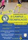 Campus de tecnificació Futsal Setmana Santa