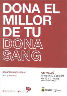 Cartell Dona sang