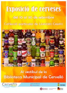 Exposició de cerveses