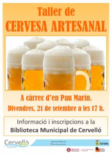 Taller cervesa artesanal
