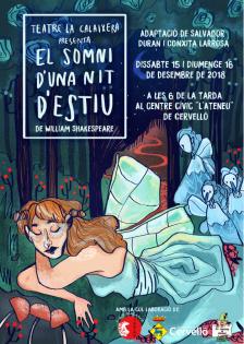 Cartell El somni d'una nit d'estiu