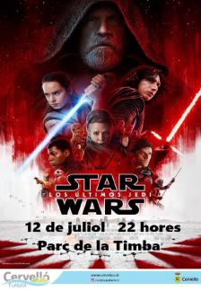 Cartell Cinema a la fresca: Star Wars