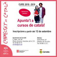 Cartell cursos català