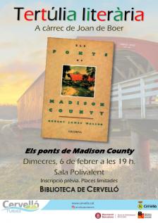 Tertúlia literària Els ponts de Madison County