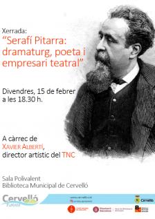 Xerrada Serafí Pitarra