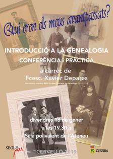 Conferència i pràctica sobre genealogia