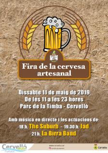 Cartell Fira de la cervesa artesanal