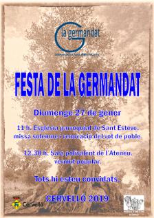 Festa germandat Sant Sebastià