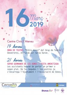 16 març dia dona