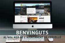 Benvinguts al nou web