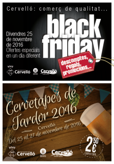Black Friday i Cervetapes 2016