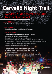 Cervelló Night Trail 2016