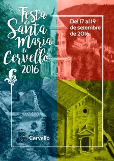 Festa de Santa Maria de Cervelló 2016
