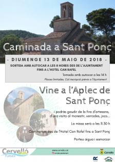 Cartell Aplec de Sant Ponç 2018