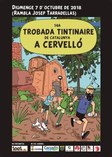 Cartell 14a Trobada Tintinaire de Catalunya