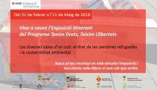 Exposició Tenim Drets, texim Llibertats