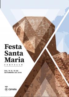 Cartell ST Maria Cervelló