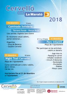 Cartell Marató TV3