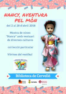 Cartell mostra nines Nancy