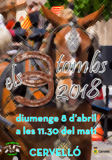 Cartell Tres Tombs 2018