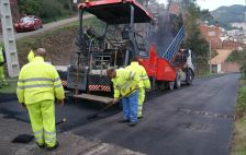 Fotos feines asfaltat