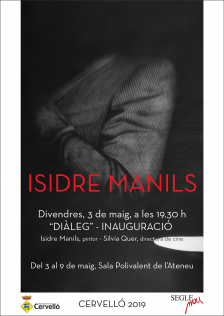 Cartell exposició Isidre Manils