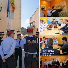Visita nous caps Mossos d'Esquadra Regió Metropolitana Sud